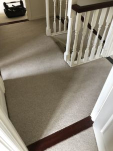 Volume 6 Before After Stairs Landing Carpet Lvt